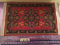 For a Dolls house. Rug.