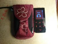 Coby mp605-4G MP4 Player + Case