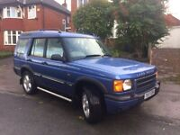 LAND ROVER DISCOVERY 4.0 VERY RARE MANUAL TOP SPEC FULL HEATED LEATHER INTERIOR