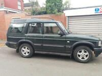 2001 LAND ROVER DISCOVERY TD5 GS ( 7st ) MANUAL FULL MOT NEW PADS TIDY PX SWAPS