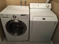 WASHER, DRYER FOR SALE! CAN BE SOLD SEPERATELY! WORKING!