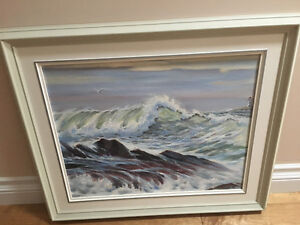 Beautiful Framed Oil Painting