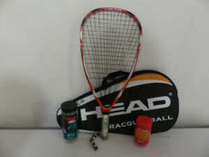 Racquetball Extreme 180 Microgel Head Racquet