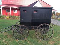 Traditional Amish Buggy
