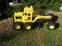 Tonka Road Grader 1999 510 Pressed Steel With Plastic Blade