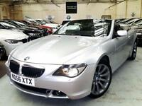 2006 BMW 6 Series 3.0 630i Sport Convertible 2dr Petrol Auto (238 g/km, 258