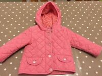 Girls next coat - size 12-18 months