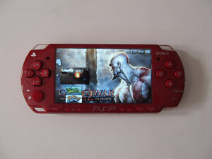 Sony PSP God of War Special Edition Modded