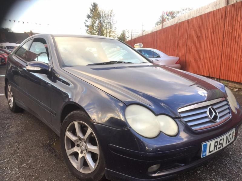 MERCEDES-BENZ C220 2.1 CDI (2001 51 REG) COUPE DIESEL AUTOMATIC + HIGH SPEC