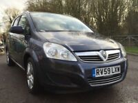 Vauxhall Zafira auto diesel disability wheelchair lifter