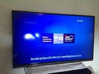 "Sharp 50"" led smart TV"
