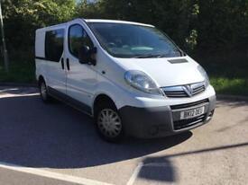 "Vauxhall Vivaro 2.0CDTi ( 115ps ) ( EU V ) 2900 SWB,6 Seater Crew Van,""NO VAT"""