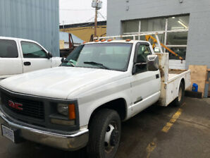 1995 gmc 3500 dually flatbed