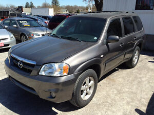 2006 MAZDA TRIBUTE GX 4X4, ONLY 120000 KM