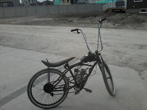 Gas Motorized bike