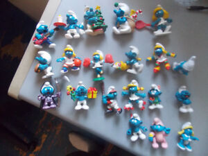VINTAGE SMURF FIGURES LOT (GREAT CONDITION)