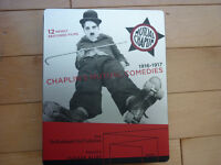 CHAPLIN MUTUAL COMEDIES BLU-RAY / DVD STEELBOOK