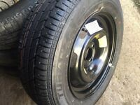 Brand new Peugeot 307 wheel and new tyre