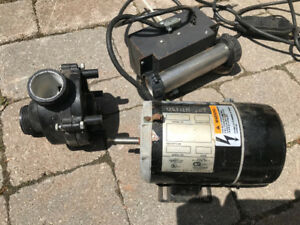 Hot tub Motor c/w pump, heater and controller