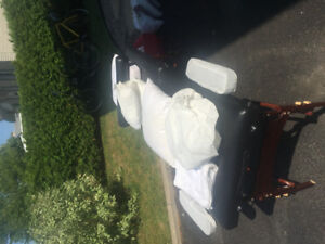 Portable massage table with lots of extras