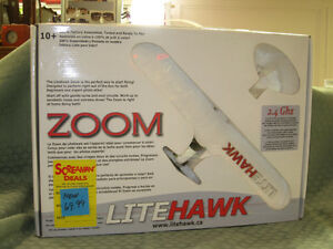LITEHAWK ZOOM R/C AIRPLANE