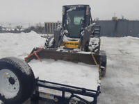 Hauling and skidsteer services