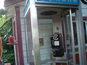 Phone Booth with Pay Phone