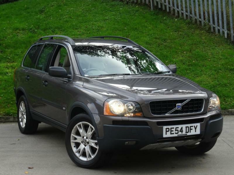 2004 54 volvo xc90 2 4 geartronic d5 se 7 seater in. Black Bedroom Furniture Sets. Home Design Ideas