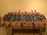 TABLE FOOTBALL, POOL TABLE AND OTHER GAMES