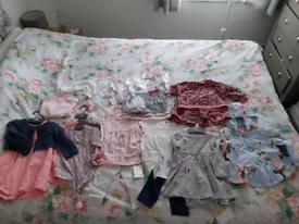 Baby girls bundle 6-9 months