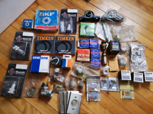 bearings and other assorted parts lot