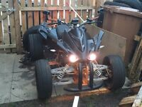Road legal quad 2014 250cc 1 year mot