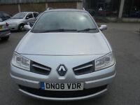 Renault Megane 1.5dCi 106 6sp Expression ESTATE - 2008 08-REG - 6 MONTHS MOT