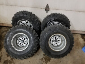 Honda foreman/fourtrax atv rims and tires