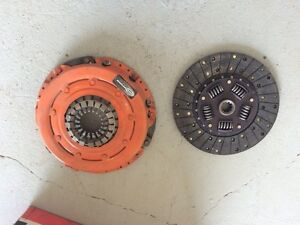 Small block Ford clutch and flywheel