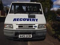 Iveco 6.5t 2.8t breakdown recovery truck with Speclift