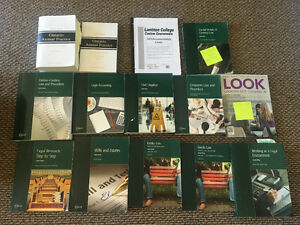 Lambton law clerk textbooks