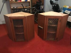 Four peices antique style kitchen cabinetry