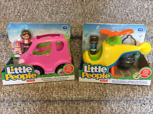 Reduced! Fisher price Little People sets