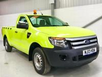 FORD RANGER LOW MILEAGE 15,000 2.2TDCi 150PS XL LWB BRIGHT GREEN STAND OUT!