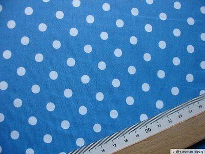 1 Lfm Singlejersey 2,93€/m² blau, weiß, Baumwolle  170cm breit FK12