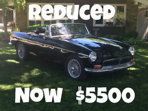 1972 MGB ROADSTER NEW PRICE