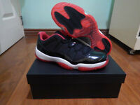 Air Jordan 11 Bred Low Size 13 Brand New Complete J11 Breds