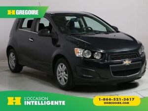 2014 Chevrolet Sonic LT HATCHBACK A/C GR ELECT MAGS BLUETOOTH