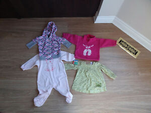12 month old baby girl tops