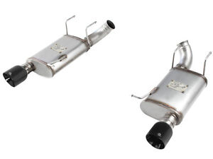 AFE Mach Force XP Axle Back Muffler 2011-2014 Ford Mustang GT