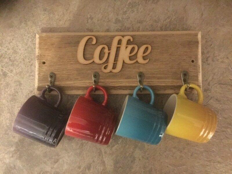 Espresso cup hanger