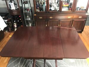 Table antique - Dining Table Duncan Phyfe reproduction Mahogany