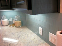 Transform with a new Kitchen BACKSPLASH!! get 15% off now!