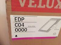Velux EDP C04 roof tile slate flashing kit fitting boxed for skylight window